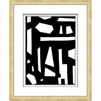 Black/White Abstract Collection