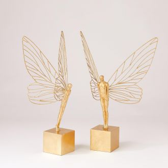 Winged Human Gold