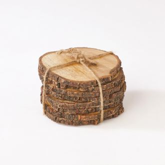 S/8 Wooden Coasters