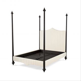 Flute Bed - King - Graphite