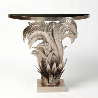 Acanthus Console-Nickel