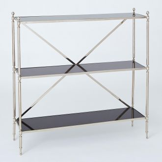 Acorn Open Shelf-Nickel