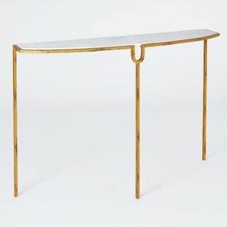 Curve Console-Gold