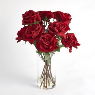 Bouquet of Cut Roses-Red