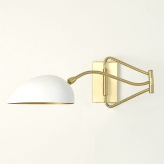 Sabine Swing Arm Sconce