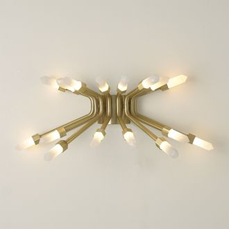 Quartz Burst Sconce