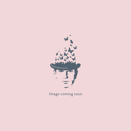 Abstract Gold/White Stool